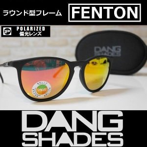 DANG SHADES サングラス FENTON - Black Soft / Orange Fire Mirror Polarized 国内正規品|wmsnowboards