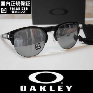 OAKLEY オークリー サングラス LATCH KEY (L) - Polished Black / Black Iridium Polarized 偏光レンズ OO9394-0655 国内正規品|wmsnowboards