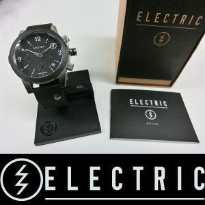 ELECTRIC 腕時計 : FW02 PU - BLACK 国内正規品|wmsnowboards