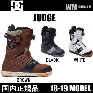 18-19 DC JUDGE 国内正規品 スノーボード ブーツ|wmsnowboards