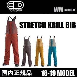 18-19 AIRBLASTER ウェア STRETCH KRILL BIB 国内正規品|wmsnowboards