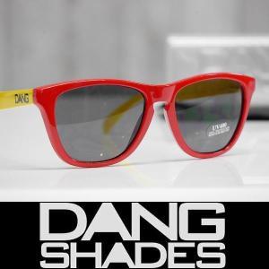 DANG SHADES サングラス SWITCH - Red/Yellow - Black Lens 国内正規品|wmsnowboards