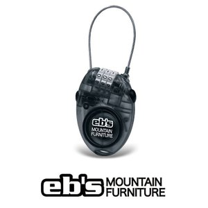 15 ebs CABLE LOCK - SMOKE