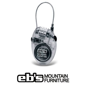 15 ebs CABLE LOCK - CLEAR