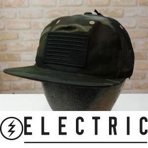 15 ELECTRIC エレクトリック キャップ VICTOR HAT - Camo 国内正規品|wmsnowboards