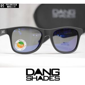 DANG SHADES サングラス LOCO - Black Soft / Blue Mirror Polarized 国内正規品|wmsnowboards