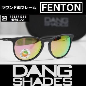 DANG SHADES サングラス FENTON - Black Soft / Pink Fire Mirror Polarized 国内正規品|wmsnowboards