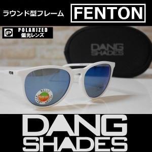 DANG SHADES サングラス FENTON - White Matte / Blue Mirror Polarized 国内正規品|wmsnowboards