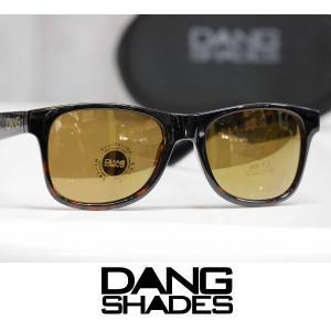 DANG SHADES サングラス LOCO - Black Tortoise Gradation Gloss / Bronze Mirror 国内正規品|wmsnowboards