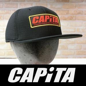 17 CAPiTA キャップ FACTORY SNAPBACK CAP - Black 国内正規品|wmsnowboards