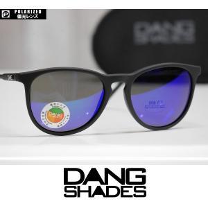 DANG SHADES サングラス FENTON - Black Soft / Green Mirror Polarized 国内正規品|wmsnowboards