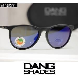 DANG SHADES サングラス FENTON - Black Soft / Blue Mirror Polarized 国内正規品|wmsnowboards