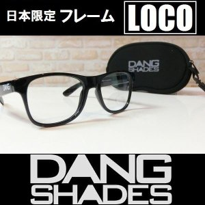 DANG SHADES サングラス LOCO - Black Gloss / Clear  国内正規品|wmsnowboards