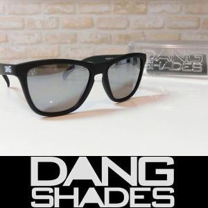 DANG SHADES サングラス ORIGINAL Black Soft / Chrome Mirror 国内正規品|wmsnowboards