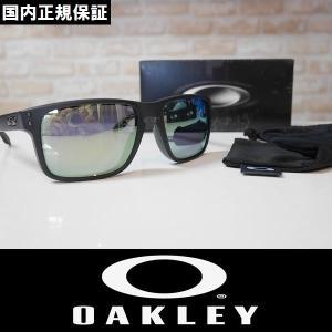 OAKLEY オークリー サングラス HOLBROOK - Matte Black Ink / Emerald Iridium OO9244-07 国内正規品 アジアンフィット|wmsnowboards