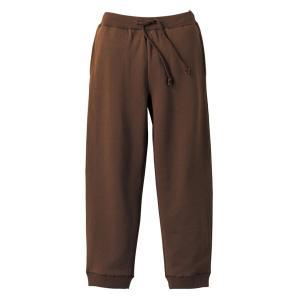 スウェットパンツ メンズ レディース ブラウン 茶 無地 s m l xl xxl 大きいサイズ スウェット パンツ ショートパンツ ゴム 綿 ルームウェア 男 女 ロング|wmstore