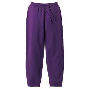 スウェットパンツ メンズ レディース パープル 紫 無地 s m l xl xxl 大きいサイズ スウェット パンツ ショートパンツ ゴム 綿 ルームウェア 男 女 ロング|wmstore