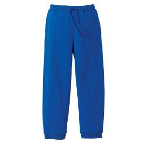 スウェットパンツ メンズ レディース ブルー 青 無地 s m l xl xxl 大きいサイズ スウェット パンツ ショートパンツ ゴム 綿 ルームウェア 男 女 ロング|wmstore