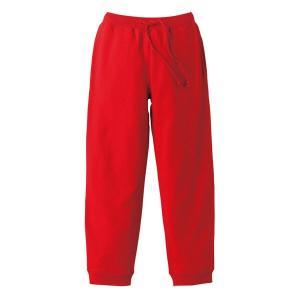 スウェットパンツ メンズ レディース レッド 赤 無地 s m l xl xxl 大きいサイズ スウェット パンツ ショートパンツ ゴム 綿 ルームウェア 男 女 ロング|wmstore