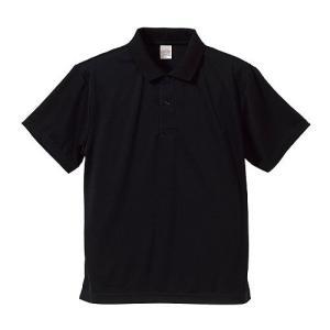 ポロシャツ メンズ レディース 半袖 シャツ ブランド ドライ 無地 大きい サイズ UVカット スポーツ 人気 トップス 男 女 速乾 xs s m l 2l 3l 4l 5l 黒 色 丈夫|wmstore