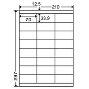 <title>東洋印刷 ナナワードラベル LDZ24U A4 人気の製品 24面 500枚</title>