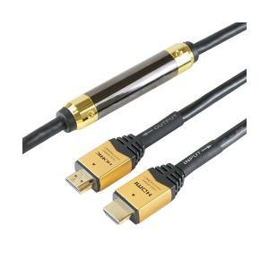 <title>まとめ買い特価 HORIC イコライザー付き 長尺 HDMIケーブル 15m ゴールド HDM150-006</title>