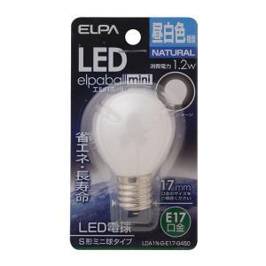 <title>業務用セット ELPA LED装飾電球 S形ミニ球形 E17 新商品 昼白色 LDA1N-G-E17-G450 〔×10セット〕</title>