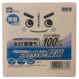 【商品名】 (まとめ) レック 水の激落ちくん 業務用 つめかえ用 10L S-776 1箱 【×2...