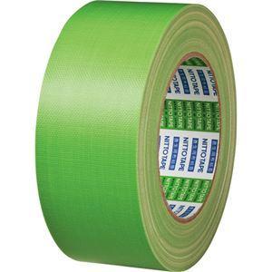 【商品名】 (まとめ) 日東電工 ニトクロステープ 50mm×25m 緑 7500-50 1巻 【×...