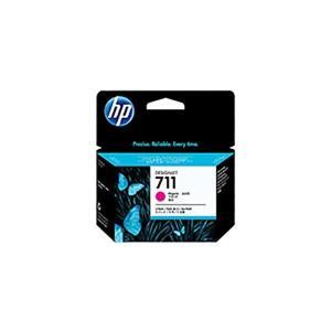 〔純正品〕 HP インクカートリッジ 〔CZ135A 3コ アウトレット 贈り物 M HP711 マゼンタ〕
