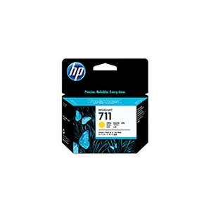 〔純正品〕 最安値に挑戦 ファッション通販 HP インクカートリッジ 〔CZ136A Y イエロー〕 3コ HP711