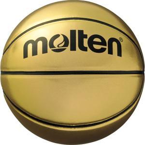 <title>〔モルテン Molten〕 記念ボール 保証 バスケットボール 〔7号球〕 ゴールド 人工皮革 B7C9500 〔運動 スポーツ用品 イベント 大会〕</title>