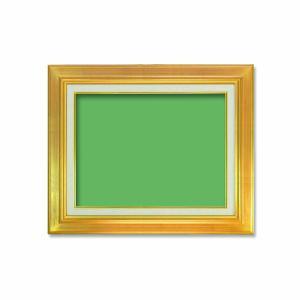 〔油額〕油絵額 キャンバス額 在庫あり 金の油絵額 銀の油絵額 410×318mm 税込 F6号 ゴールド 油絵額