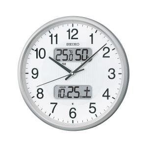 <title>セイコー 電波アナログ掛時計 温湿度 驚きの値段で カレンダー表示つき KX383S</title>