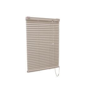 アルミ製 ブラインド 〔165cm×210cm アイボリー〕 正規品 日本製 折れにくい 贈物 〔代引不可〕 ティオリオ 熱効率向上 光量調節