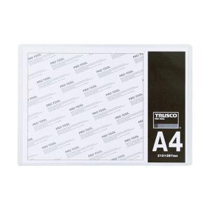 まとめ 販売期間 期間限定の激安セール 限定のお得なタイムセール TRUSCO 厚口カードケース 1枚 A4THCCH-A4 〔×30セット〕