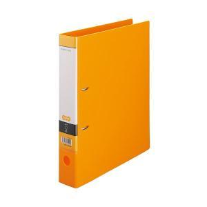 まとめ TANOSEE DリングファイルA4タテ 2穴 新品未使用正規品 350枚収容 ブランド品 背幅53mm 〔×20セット〕 1冊 オレンジ