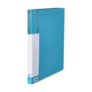 <title>まとめ TANOSEEPPクリヤーファイル 差替式 A4タテ 30穴 15ポケット ライトブルー 1冊 2020 〔×10セット〕</title>