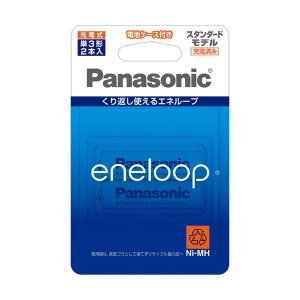 【商品名】 (まとめ)パナソニック 充電式ニッケル水素電池eneloop スタンダードモデル 単3形...