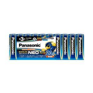 まとめ パナソニック アルカリ乾電池EVOLTAネオ 単3形 最安値に挑戦 LR6NJ 〔×3セット〕 20本 キャンペーンもお見逃しなく 20SW 1パック