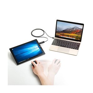 サンワサプライドラッグ&ドロップ対応Type-Cリンクケーブル(Mac/Windows対応) 1.5m KB-USB-LINK51本 wmstore 03