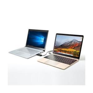 サンワサプライドラッグ&ドロップ対応Type-Cリンクケーブル(Mac/Windows対応) 1.5m KB-USB-LINK51本 wmstore 04