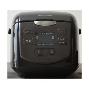 <title>エスキュービズム 4合炊きマイコン式炊飯器 公式ストア ブラック SCR-H40B</title>