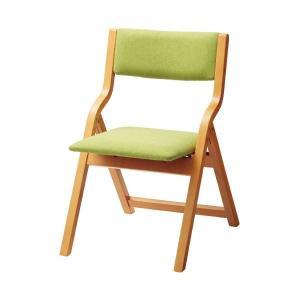 【商品名】 アイコ 折畳イス MW-100 グリーン 木製
