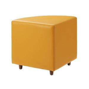 ハピラ ブロックソファコーナー 激安挑戦中 AL完売しました。 HPF0402-J06OR オレンジ