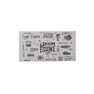 【商品名】 モダン ラグマット/絨毯 【レッド 130×190cm TTR-139RE】 長方形 綿...