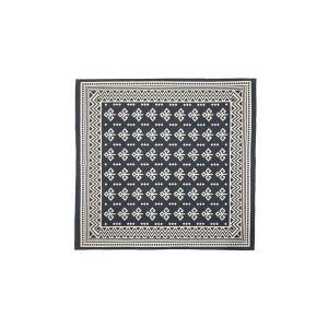 【商品名】 モダン ラグマット/絨毯 【180×180cm TTR-162B】 正方形 綿 インド製...