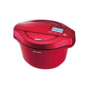 【商品名】 シャープ 水なし自動調理鍋 ヘルシオホットクック 無線LAN対応 レッド系