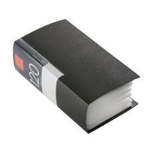 (まとめ) バッファローCD&DVDファイルケース ブックタイプ 120枚収納 ブラック BSCD0...
