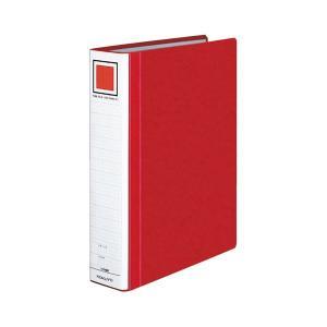 まとめ コクヨ チューブファイル エコツインR 人気ブランド A4タテ 500枚収容 直営限定アウトレット 背幅65mm フ-RT650R 1冊 赤 〔×10セット〕
